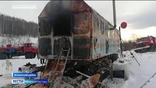 По факту смерти девочки в бытовом вагончике в Башкирии возбуждено уголовное дело