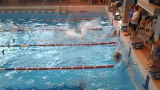 Кубок РБ по плаванию 19.05.2017, эстафета 4 х 100 к/п женщины
