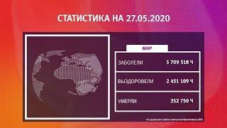 UTV. Коронавирус в Башкирии, России и мире на 27 мая 2020. Плюс опрос уфимцев