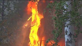 В Башкирии продолжается борьба с природными пожарами