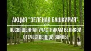 Зелёная Башкирия, Тубинск, посадка деревьев.