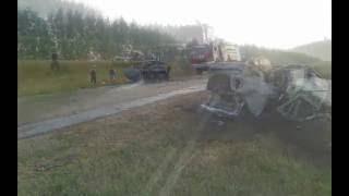 В ДТП на 50-ом километре автодороги Татышлы-Янаул погибли четыре человека