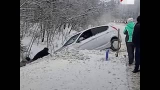 Очевидцы ДТП спасли женщину и ребенка 2 января   Ufa1.RU