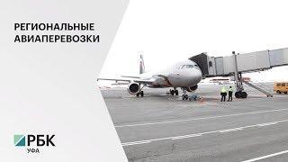 В 2020 г. для субсидирования 8-ми авиарейсов из Уфы направят 180 180 млн руб.