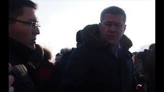 Радий Хабиров на сибайском карьере