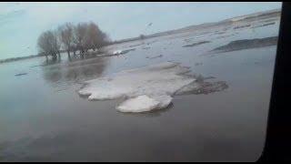 Паводок-2018: в одном из сел Башкирии подтопило дорогу