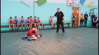 Новости UTV. В 21 школе открыли зал для занятия спортивной борьбой