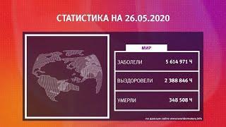 UTV. Коронавирус в Башкирии, России и мире на 26 мая 2020. Плюс опрос уфимцев