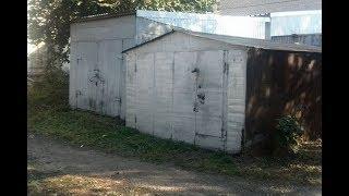 В Уфе рабочие нелегально снесли гараж