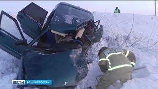 Участник аварии с четырьмя погибшими в Башкирии был пьян