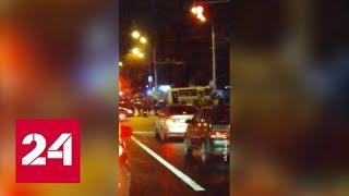 В результате ДТП в Уфе пострадали 10 человек - Россия 24