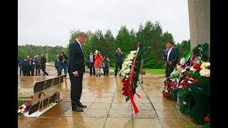 Радий Хабиров почтил память погибших в Улу-Телякской катастрофе