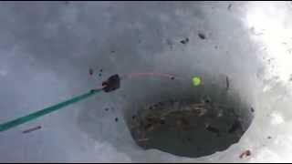 Рыбалка на озере Банном. Апрель. Башкирия