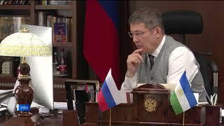 Радий Хабиров обещал вернуть домой всех заболевших ковидом вахтовиков