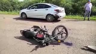 Бирск погиб водитель мопеда 14 июля 2017