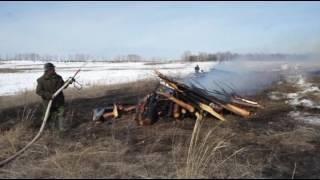 Зональное учение по тушению лесных пожаров