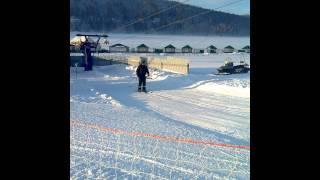Мое слайд-шоу - Отдых на горнолыжке в Башкирии зимой!