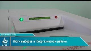 Итоги выборов в Куюргазинском районе