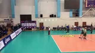 Волейбольный клуб «Урал» сражается с «Газпром-Югра»