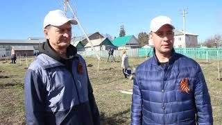 Республиканская акция «Зеленая Башкирия». Ермекеевский район