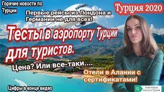 Турция 2020. Отели в Алании с сертификатами. Polat Alanya жизнь в Турции. Новости туризма