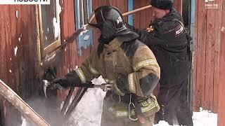 В Бирске случился пожар