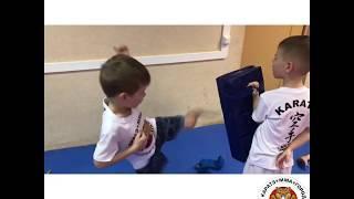 Сплит тренировка по каратэ в клубе ТИГР г.Белорецк
