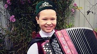 Башкирская народная песня на баяне.