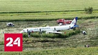 Профессионализм и хладнокровие пилотов спасли пассажиров в Подмосковье - Россия 24