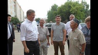 В Чишминском районе в ходе рабочей поездки Радий Хабиров посетил несколько социальных объектов