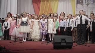 Пасхальный концерт воскресной школы им.прп. Сергия Радонежского