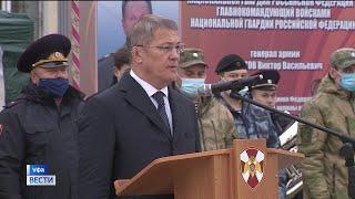 Радий Хабиров вручил  госнаграды сотрудникам подразделений спецназа Росгвардии