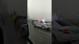 Под Благовещенском из-за тумана разбились десять машин