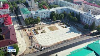 Реконструкция Советской площади в Уфе вышла на финишную прямую