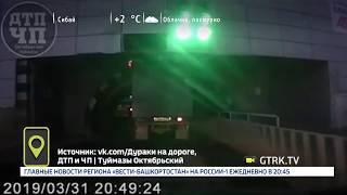 В Туймазах грузовик застрял в тоннеле