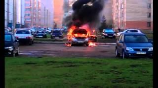 30.04.2013 Стерлитамак. Сгорел автомобиль