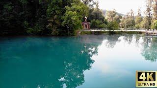 Отдых в Башкирии самый красивый и большой родник Озеро Красный ключ 4К 2021. Nature of Bashkiria 4K
