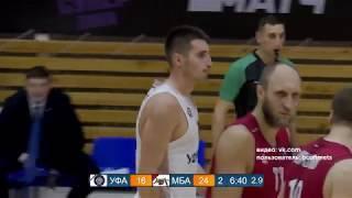 Баскетбольный клуб «Уфимец» уступил московскому коллективу со счетом 62:70