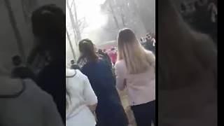 Видео с место происшествия Стерлитамаке ученик напал на школу с ножом.Видео-2