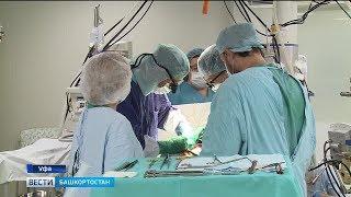 Уфимские хирурги провели уникальную операцию по установке кардиопротеза