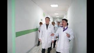 Радий Хабиров посетил социальные и промышленные объекты Альшеевского района