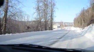 Дорога в Павловский Парк (Павловка) через Благовещенск РБ