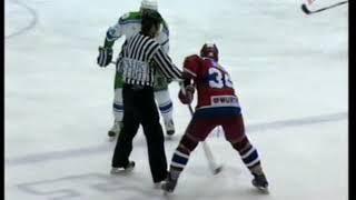 2007 Салават Юлаев (Уфа) - ЦСКА 1-3 Хоккей. Суперлига. Плей-офф, 1/4 финала, 2-й матч, полная игра