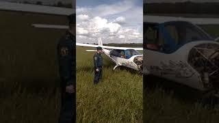 Легкомоторный самолет совершил вынужденную посадку на границе Башкирии