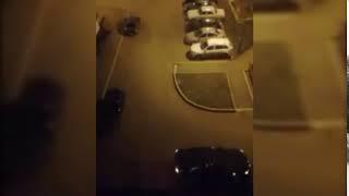 В Башкирии ревнивая девушка врезалась в жилой дом на угнанной машине любовника