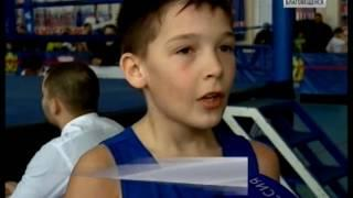 Начинающие боксеры сразились на турнире памяти Семёна Лисунова в Благовещенске