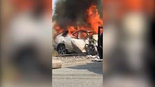 Жуткое ДТП с 4 погибшими под Челябинском