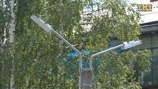 В Белорецке ведется масштабный капитальный ремонт уличного освещения