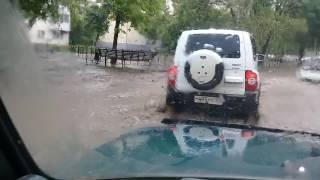 Потоп ,ливень в Уфе