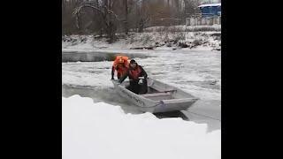 В Уфе спасатели вызволили мужчину из беды | Ufa1.RU